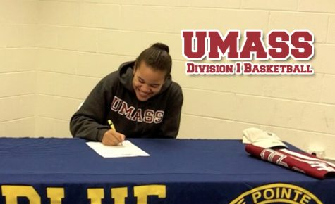 Video: Senior commits to play Division I basketball