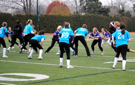 Seniors triumph once again in powder-puff victory