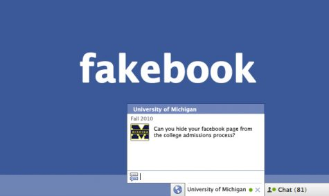 Students create new identities on Facebook