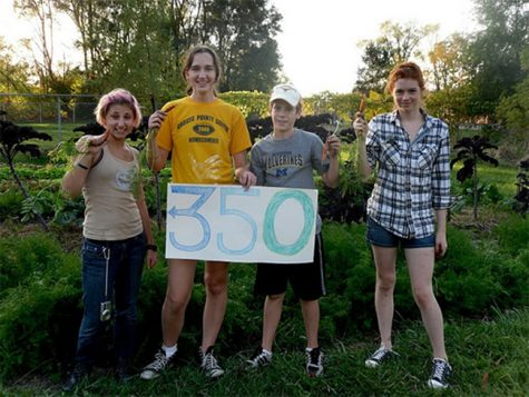 Conservation Club harvests crops for winter