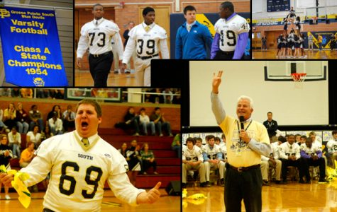 Pep assembly held for semi-finals game
