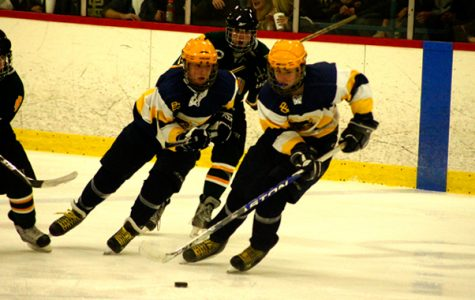 Devastating varsity men's hockey loss to Grosse Pointe North