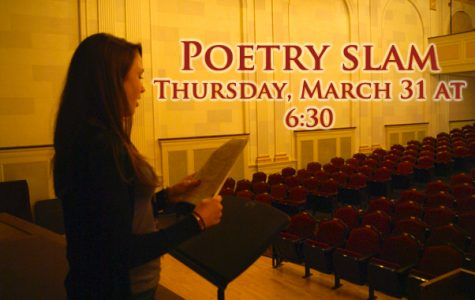 Library hosts local poetry slam