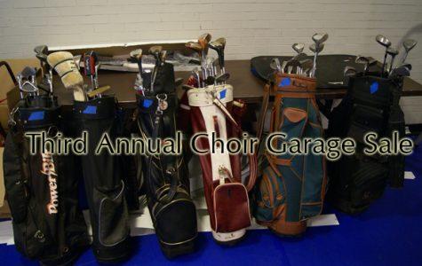 Choir Program Profits from Annual Rummage Sale
