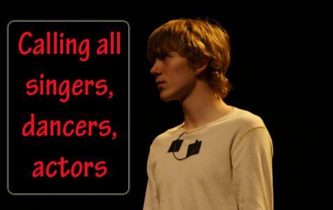 Actors, dancers needed for school musical