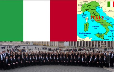 Viva Italia: Junior reflects on choir experience in Italy