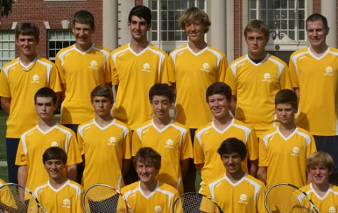 Men's Varsity Tennis team wins MAC Red, preparing for regionals