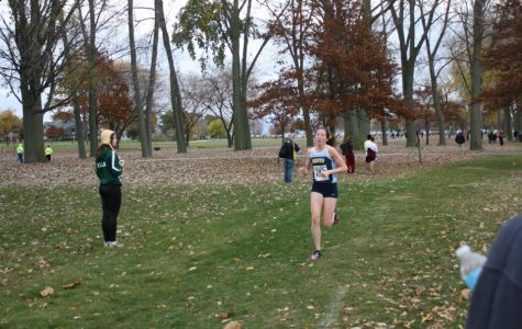 Girls cross country continues to dominate, advances to state meet