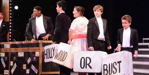 Behind the scenes: crew prepares for all-school musical