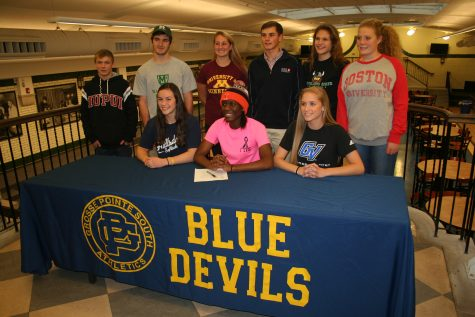 Photo Gallery: Senior Athletes sign National Letters of Intent