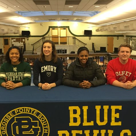 Four athletes sign letters of intent