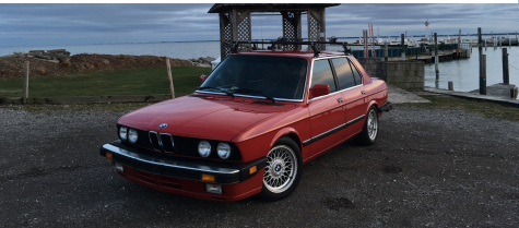 15-year-old saves money to buy his own BMW