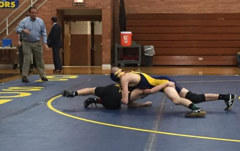 South wrestling comes out on top at district meet