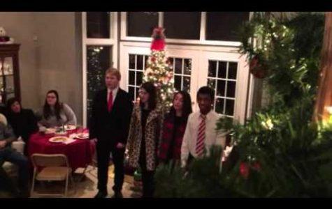 Senior reflects on last holiday caroling season