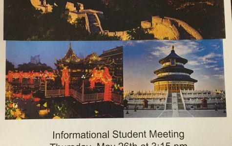 Students prepare to take cultural experience to China