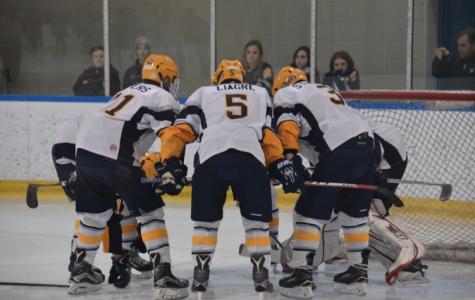 Boys hockey shuts out cross-town rival