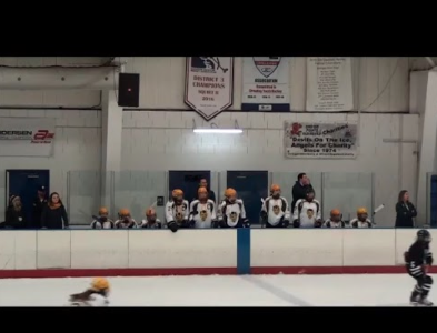 Girls varsity hockey defeats Bloomfield
