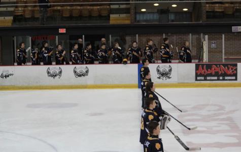 Boys varsity hockey triumphant against Port Huron Northern