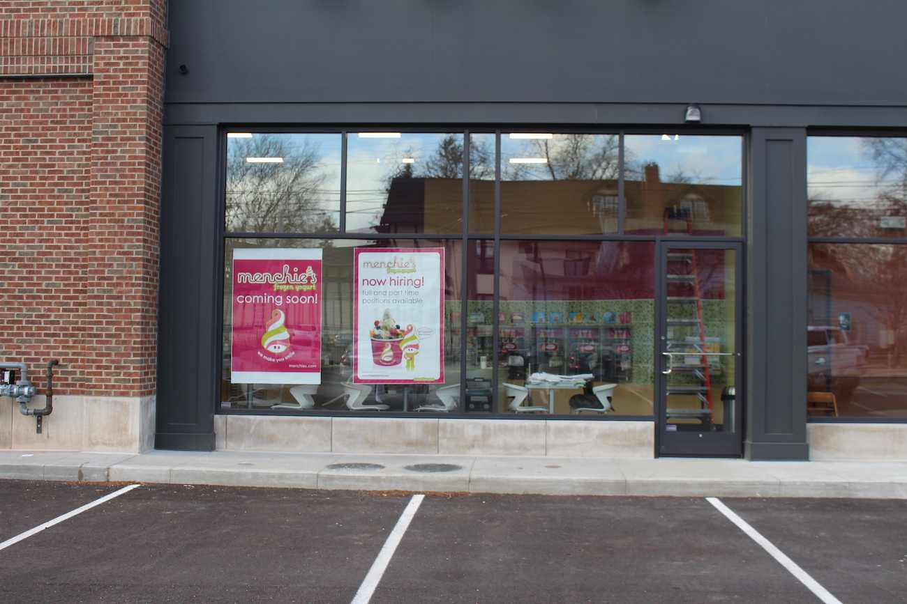 Menchie's will open in late March or early April, and it will be self-serve frozen yogurt.