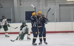 Girls Varsity hockey dominates North