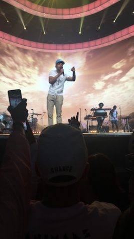 Chance the Rapper gives an impressive performance at the Palace