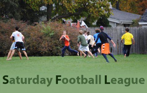 Informal football league draws junior attention