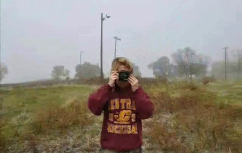 Senior blends photography with film in student project