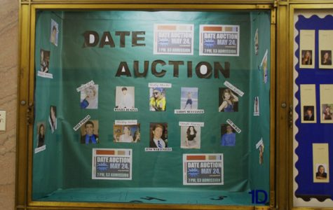 Senior class hosts third annual date auction