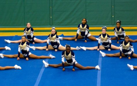 Varsity cheerleading team kicks off season with second place finish