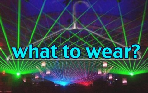 Dress code changing for Glow Out dance