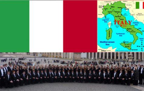 Viva Italia: Junior reflects on choir experience in Italy