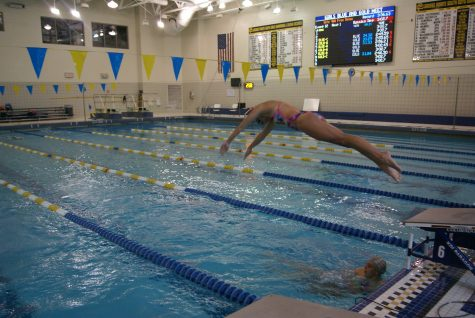 Devils Week ends as Girls Swim Team prepares to finish strong