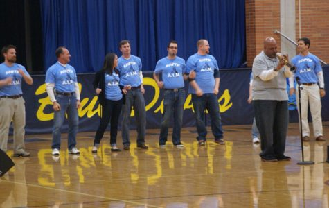 Dabbs assembly leaves positive impression on students, teachers, administration