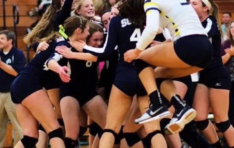 Girls volleyball sweeps North