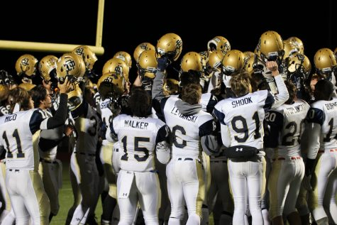 Football secures playoff spot with Friday's win