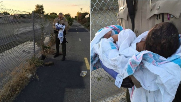 The Los Angeles Sheriff's Department is asking for the public's help with any information regarding the abandonment and endangerment of a newborn baby girl. (Source: Los Angeles County Sheriff)