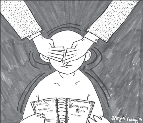 Cartoon by Abby Ferry '16