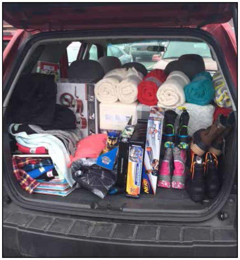 Student Association has run the Adopt-a-Family program at South for three years. This year 40 third hour classes raised money and purchased gifts for Grosse Pointe-area families in need.