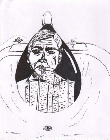 Cartoon by Jen Toenjes '16