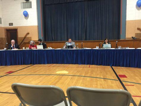 Students and parents support Principal Hamka at school board meeting