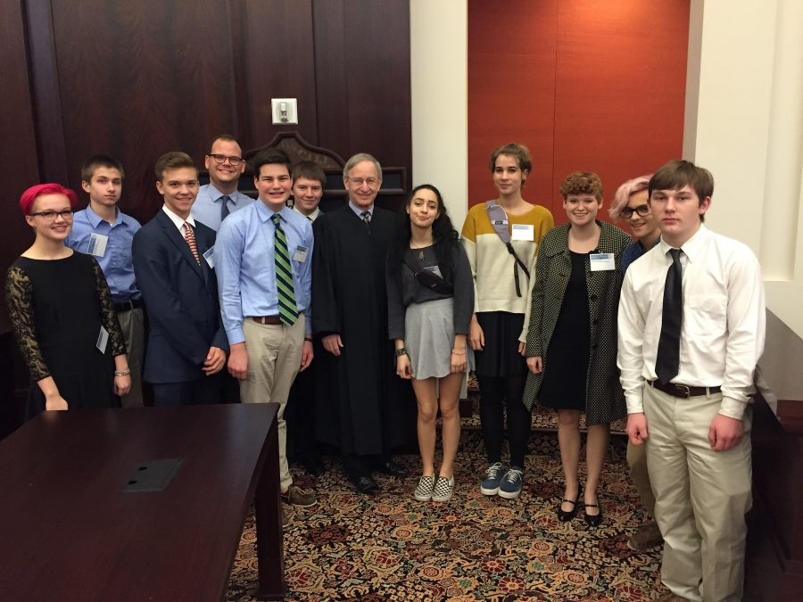 Students+in+the+mock+trial+at+Grosse+Pointe+South+attending+training+at+the+Michigan+Supreme+Court.
