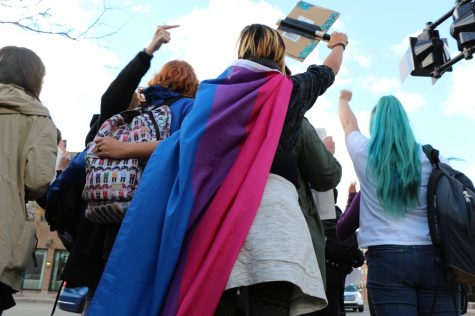 Students voice their feelings of the necessity to come together for unity and diversity.