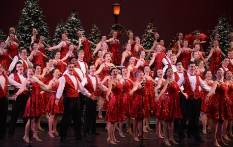 Grosse Pointe South choir performed 'Sounds of the Season' on Thursday, Dec. 8. The show was sold out.