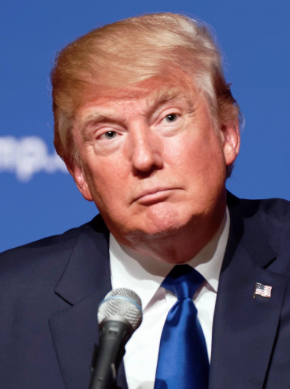 Donald Trump. Photo from Creative Commons.