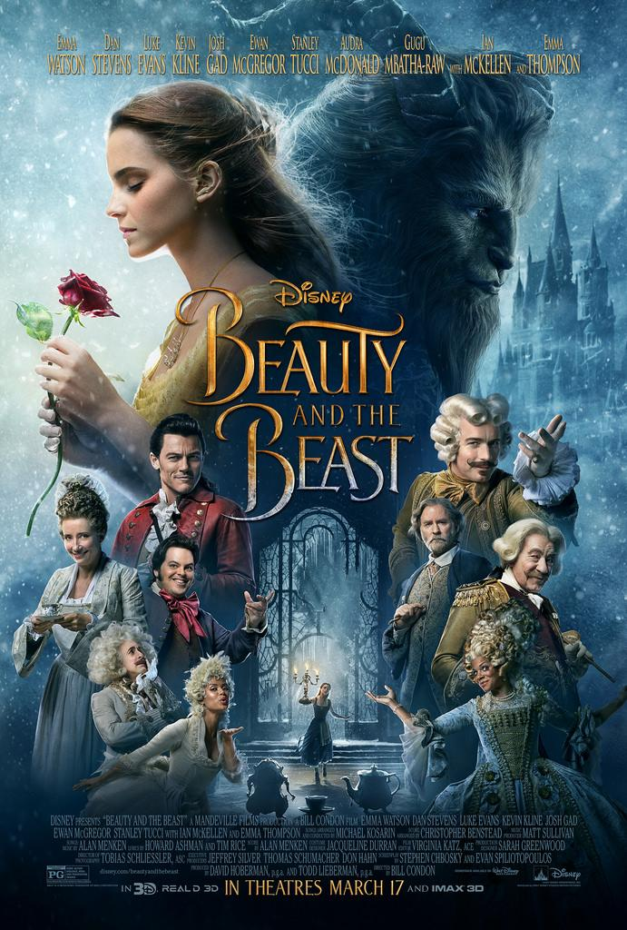 The Beauty and the Beast live-action remake has received critic ratings of 70% from Rotten Tomatoes. Photo from Creative Commons.