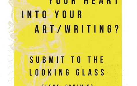 """Looking Glass"" has selected student work for this year's issue"