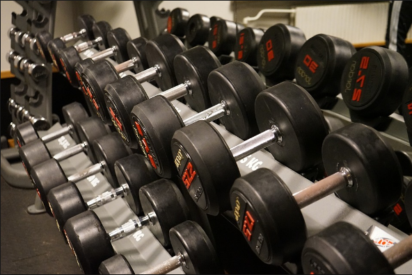 Weight training is a form of summer training. Photo courtesy of Creative Commons.