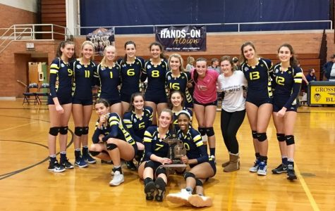 South's varsity volleyball team wins districts