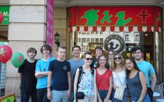 German students plan for their summer trip to Germany