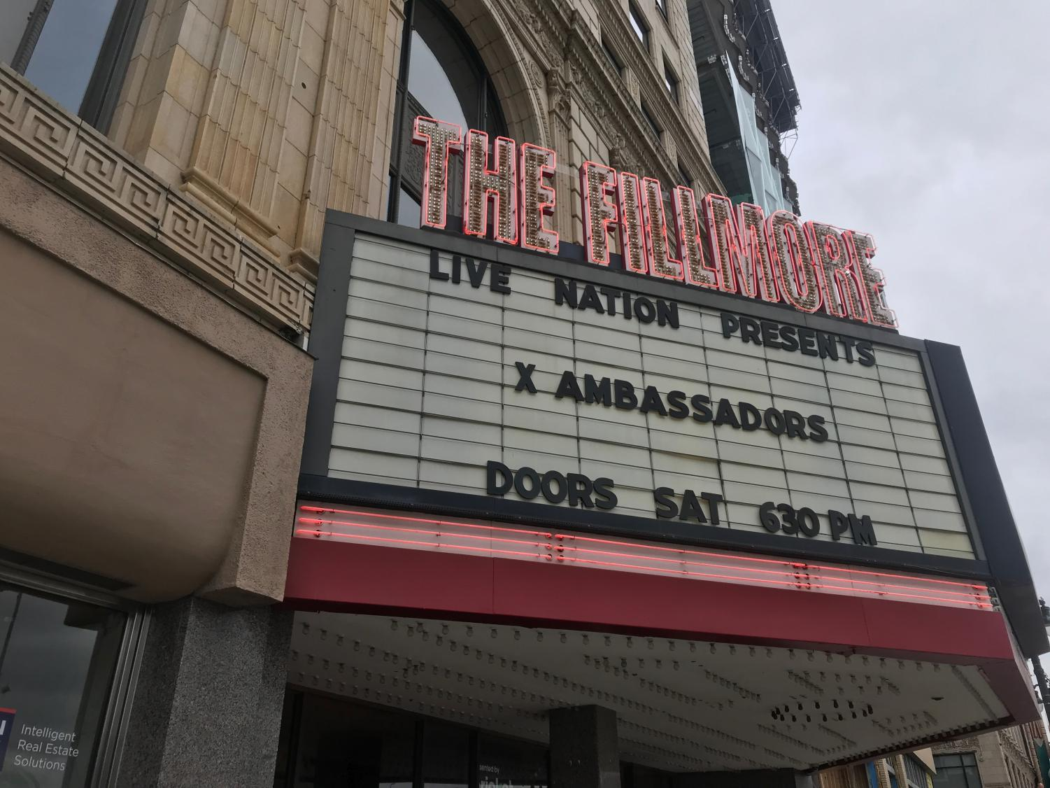 The Fillmore is the new location of Grosse Pointe South's prom.